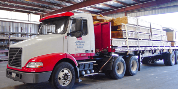 Dartmouth Building Supply delivery trucks